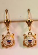 US Coast Guard Earrings
