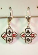 Bridge/Texas Hold 'Em Earrings