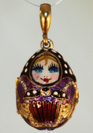 Imperial Matryoshka Locket