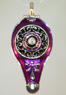 Top of Aladin's Lamp in Purple