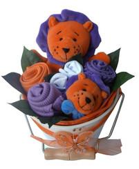 Baby bouquet bucket