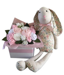 Baby bouquet and bunny