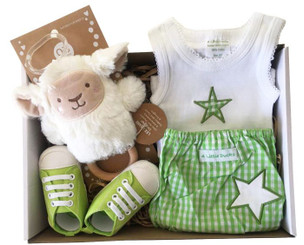 Baby hampers brisbane unisex