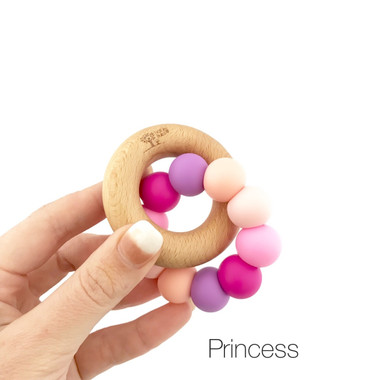 Wooden teether Princess