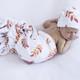 Wildfire Baby Jersey Wrap & Beanie Set