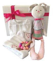 Adorable baby girl gift box