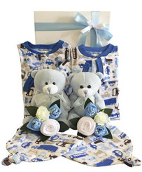 Twin boy gift set