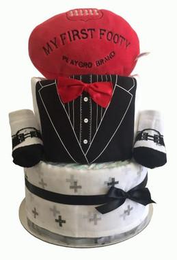nappy cakes ,baby boy nappy cake, baby boy nappy cake gift