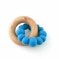 Blok teether blue