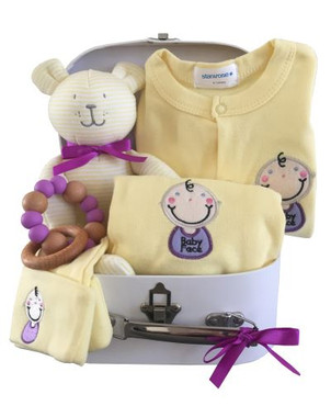 Baby gift box baby face