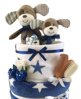Nappy cakes baby boy