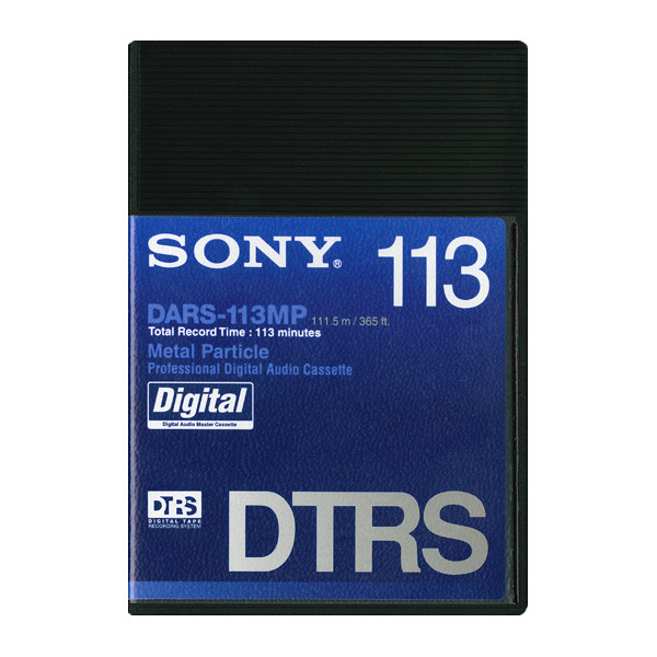 Sony DARSMP Digital Audio Tape (DTRS) 113 min (DARS-113MP)