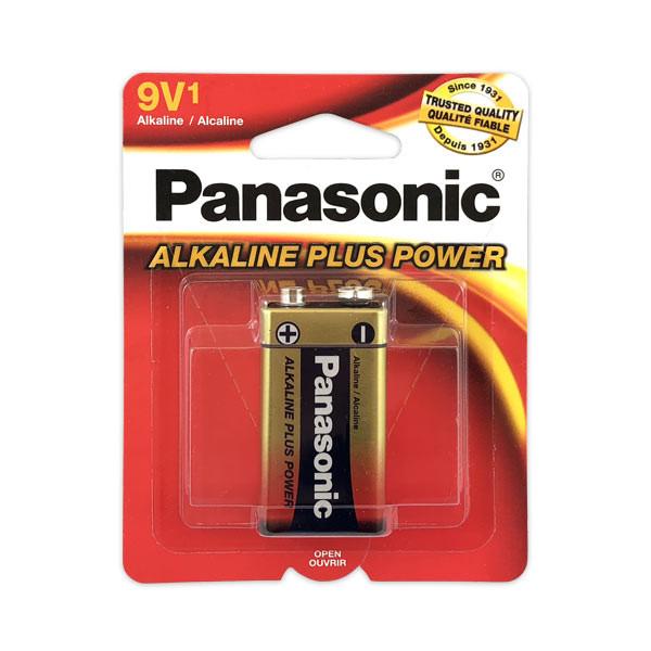Panasonic Alkaline Plus 9 Volt Battery