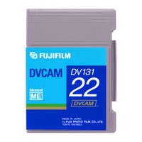 Fuji DVCAM Video Cassette 22 min mini (DV131 22S)