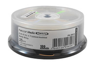 DVD-R Falcon Media 8x Gold Archival 25pk (615)