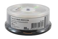 DVD-R Falcon Media 8x Gold Archival 25pk (615)