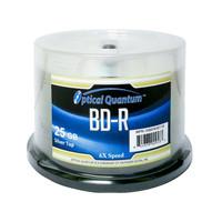 Optical Quantum Blu-ray 6X 25GB Shiny Silver 50 pack -  OQBDR06ST-50