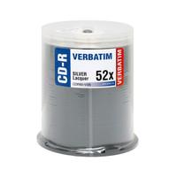 Verbatim CD-R 52X Silver Lacquer (94797) - 100PK