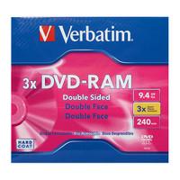 Verbatim Dual Layer DVD-RAM 3x