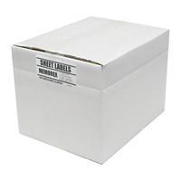 Adtec Labels 2 Up Memorex CD-DVD Box of 2000