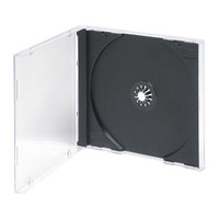 Adtec Jewel Case with Black Tray 200pk