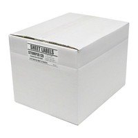 Adtec Labels 2 Up Stomper Full Face CD-DVD Box of 2000