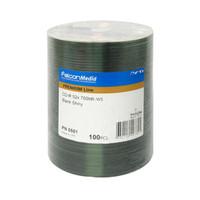 Falcon Media CD-R 52x Shiny Silver Lacquer (501) - 100PK