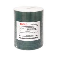 CMC PRO CD-R 48X Value Line - White Inkjet Hub Printable - 100PK