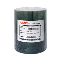 CMC PRO CD-R 48X Silver Inkjet Hub Printable - 100PK *Levy Included*