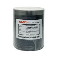 CMC PRO DVD-R 16X 4.7GB Silver Inkjet Hub Printable - 100PK | TDMR-WPP-SK16