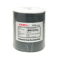 CMC PRO DVD-R 8X 4.7GB Value Line - White Inkjet Hub Printable - 100PK | TDMR-VALWPP-SK