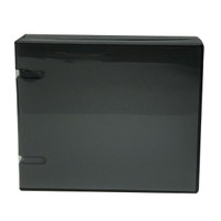 Unikeep Wallet 20 Disc (12688) - Black with clear overlay PRICED TO CLEAR