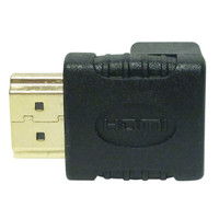 Cyberwyll HDMI Right Angle Adapter F<-->M