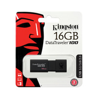 Kingston 16GB USB 3.1/3.0/2.0 DataTraveler® 100 Gen 3