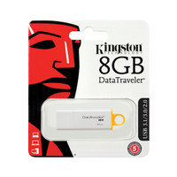 Kingston 8GB USB 3.1/3.0/2.0 DataTraveler G4 - Bulk Pack of 25 USB Keys