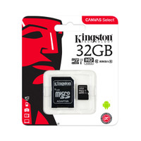 Kingston Canvas Select Micro SD Card 32GB - Class 10