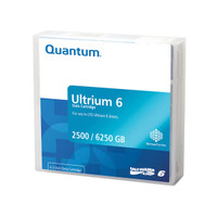 Quantum LTO Ultrium 6 Data Cartridge 2.5TB/6.25 TB