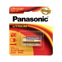 Panasonic Lithium 3 Volt Battery (CR-123A)