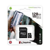 Kingston Canvas Select Plus microSD Card 64GB w/Adapter - Class 10