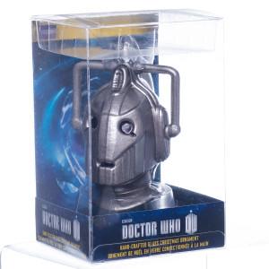 Doctor Who Glass Tardis Christmas Tree Ornament ...