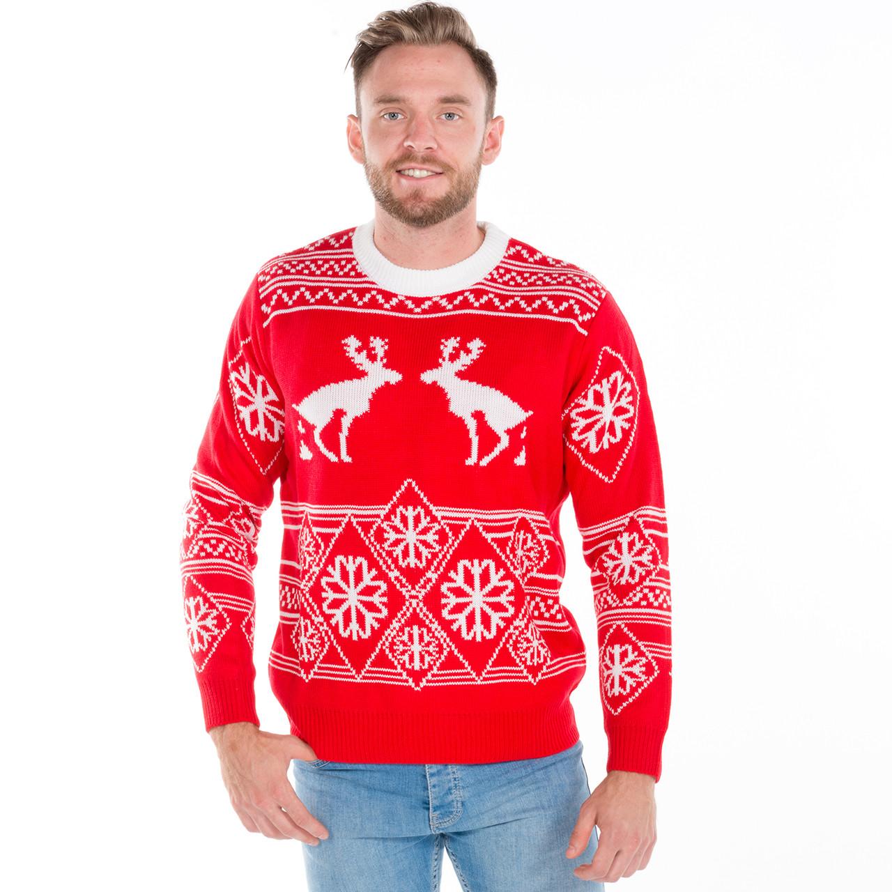 Moose christmas sweater