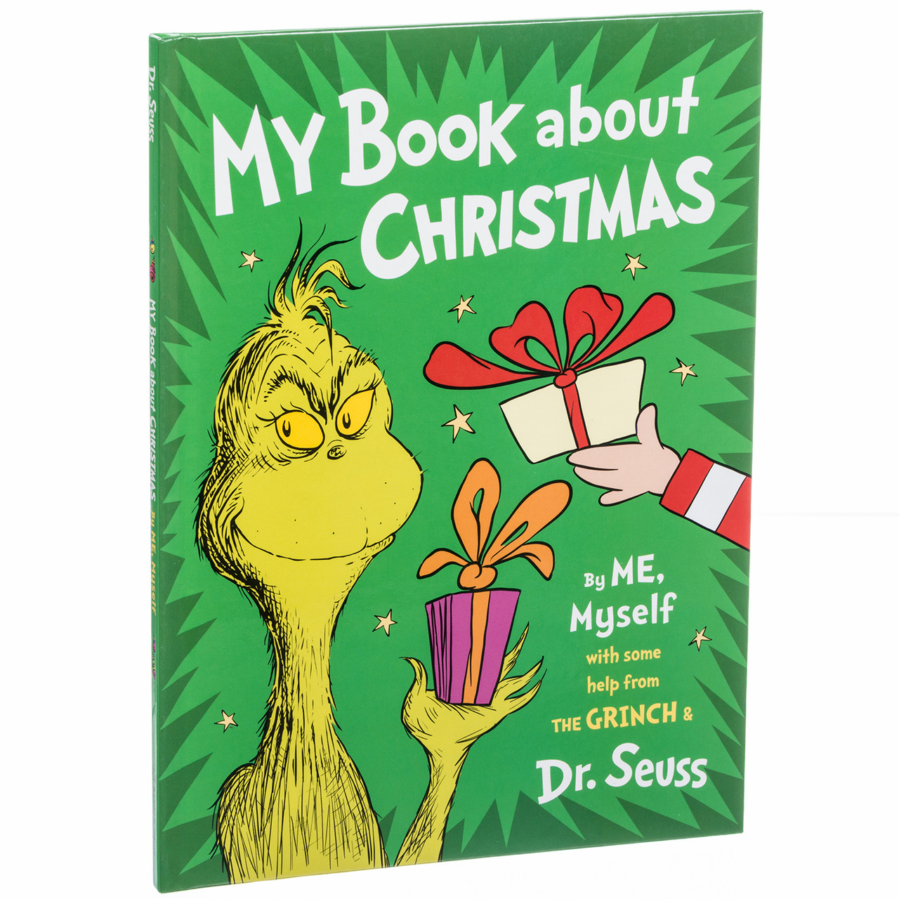 My Book about Christmas by Me and the Grinch - RetroFestive.ca