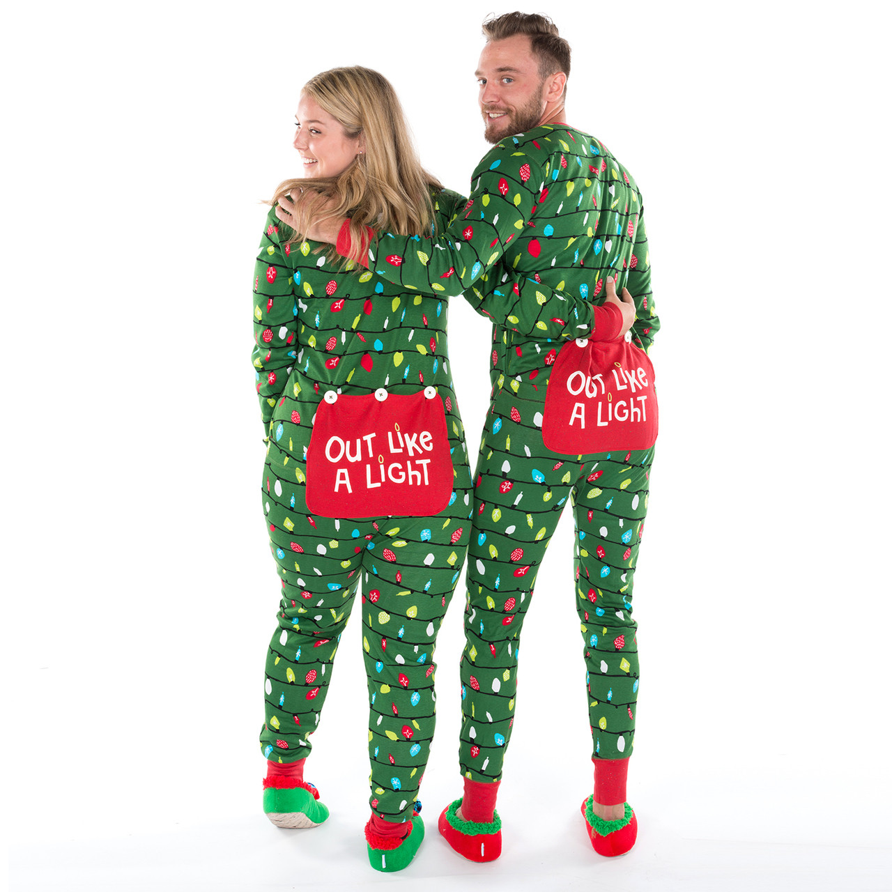 Northern Lights Adult Christmas Onesies Canada ...