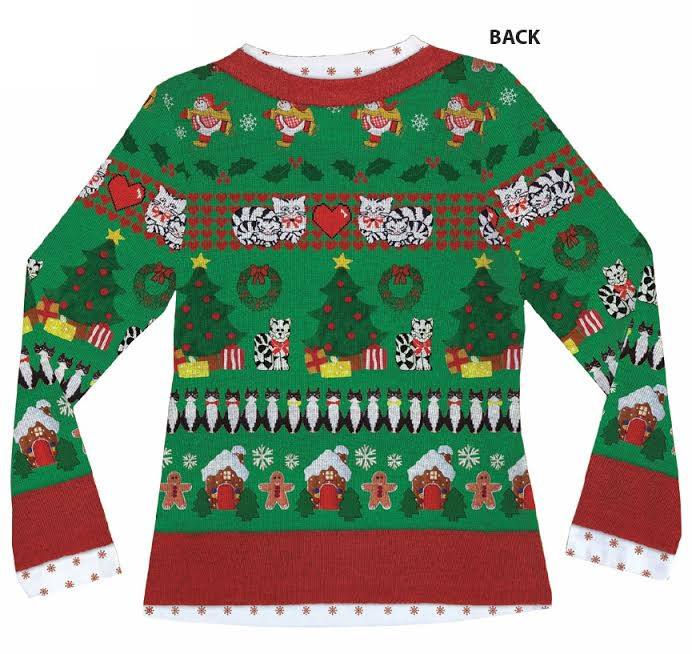 Women S Ugly Christmas Sweater In Canada Printed Shirt