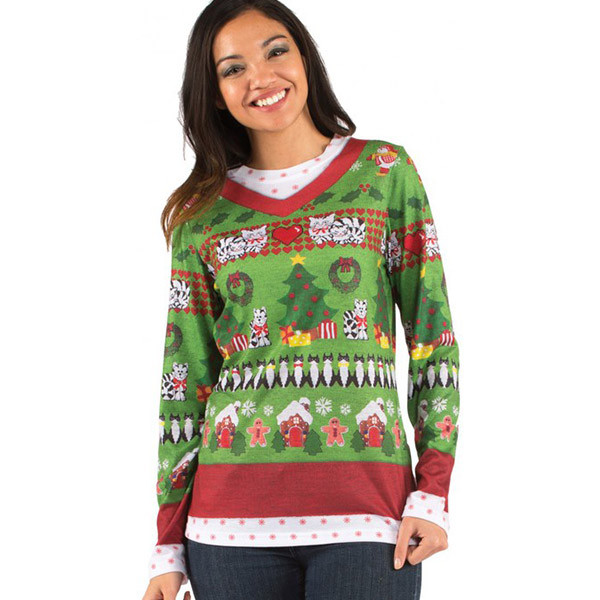 Ugly sweater shirts for christmas