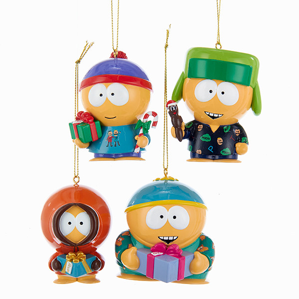 Christmas In Canada South Park.South Park Christmas Ornaments