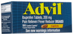 Advil Caplets 100 ct -Catalog