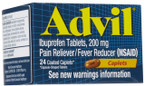 Advil Caplets 24 ct -Catalog