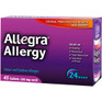 Allegra 24-Hour Tablets 45 ct -Catalog