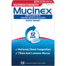 Mucinex Maximum Strength Tablets 14 ct -Catalog